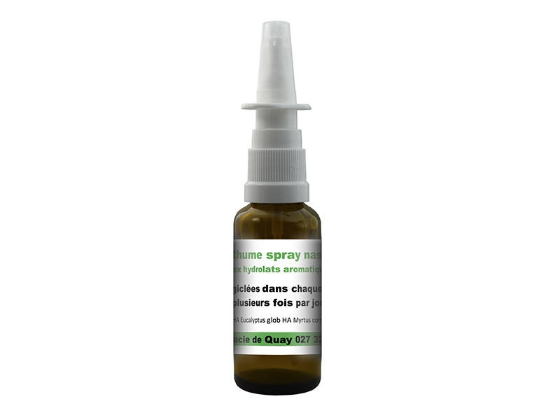 Hydrolat Aromatique Rhume spray nasal 30 ml